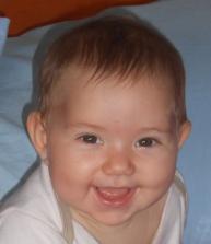 Η κόρη μου Σμαράγδα, για λογαριασμό της οποίας είμαι σε άδεια.